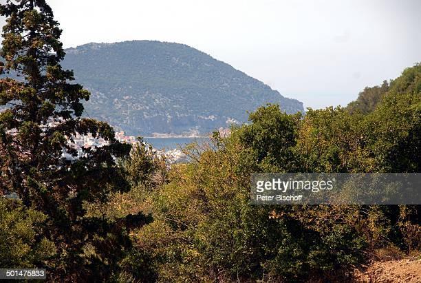 Blick vom Haus von Ivan Rebroff auf Ägäisches Meer Insel Skopelos Ägäis Griechenland Europa Homestory Promi BB DIG PNr 1161/2008