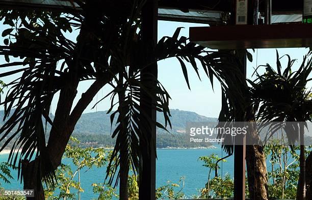 Blick vom Hotel Central Karon Village auf Karon Beach Insel Phuket Thailand SüdOstAsien Meer Strand Reise BB DIG PNr 386/2005