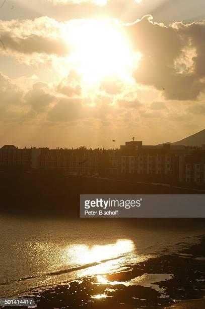 Blick vom Hotel Papagayo Arena auf Strand Papagayo KanarenInsel Lanzarote Spanien Europa Sonne Reise BB DIG PNr 382/2005