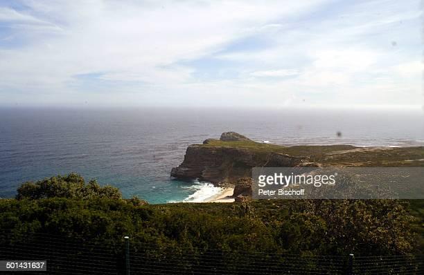 Blick von 'Cape Point' 'auf Atlantischen Ozean am Kap der Guten Hoffnung bei Kapstadt Südafrika Afrika Atlantik Reise NB DIG PNr 1299/2005