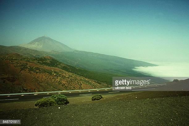 Blick zum `Pico de Teide` 1990
