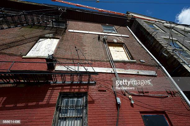 blight in philadelphia, pa - basslabbers, bastiaan slabbers stock pictures, royalty-free photos & images