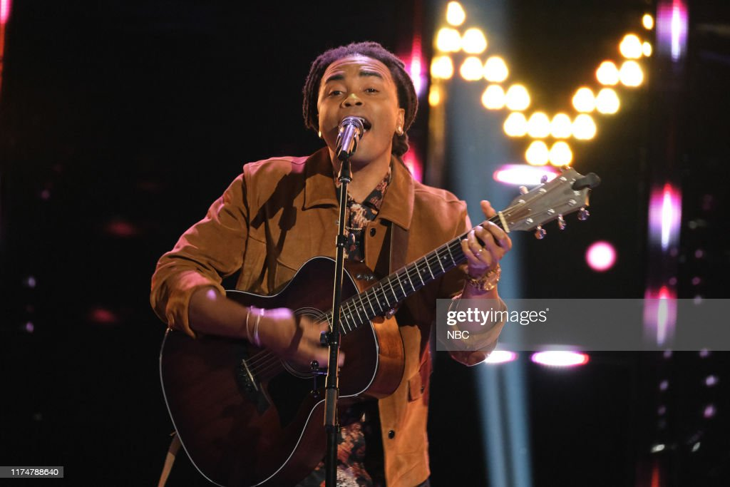 "THE VOICE -- ""Blind Auditions"" Episode 1702 -- Pictured: Royce ..."