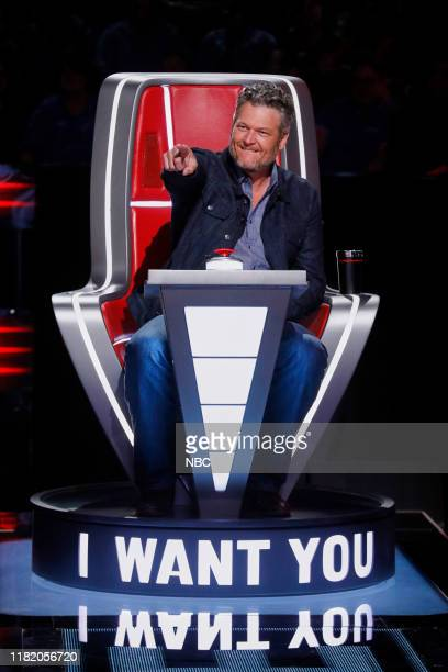 THE VOICE Blind Auditions Episode 1704 Pictured Blake Shelton