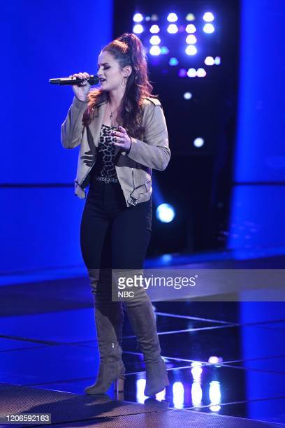 THE VOICE Blind Auditions Episode 1803 Pictured Joei Fulco
