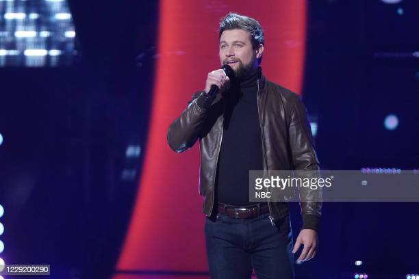 """Blind Auditions"""" Episode 1902 -- Pictured: Ryan Gallagher --"""