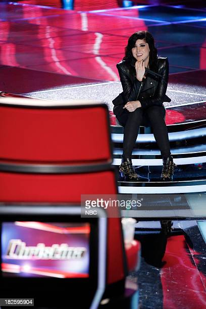 THE VOICE Blind Auditions Episode 503 Pictured Briana Cuoco