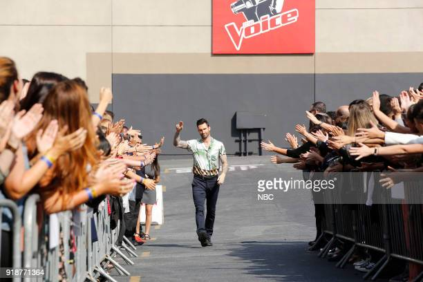 THE VOICE 'Blind Auditions' Pictured Adam Levine