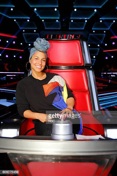 THE VOICE 'Blind Auditions' Pictured Alicia Keys
