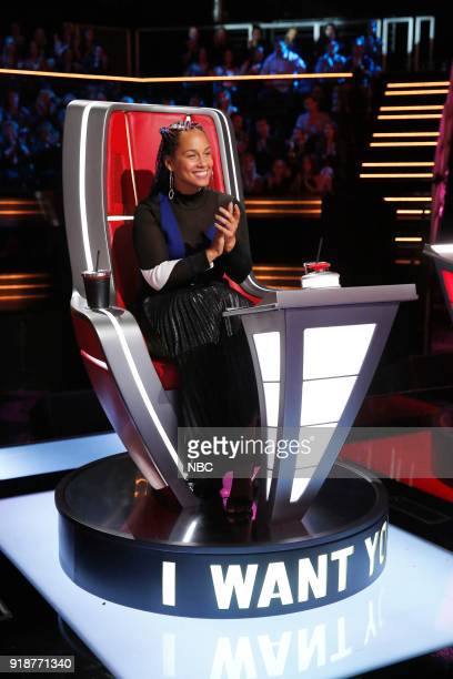 THE VOICE Blind Auditions Pictured Alicia Keys