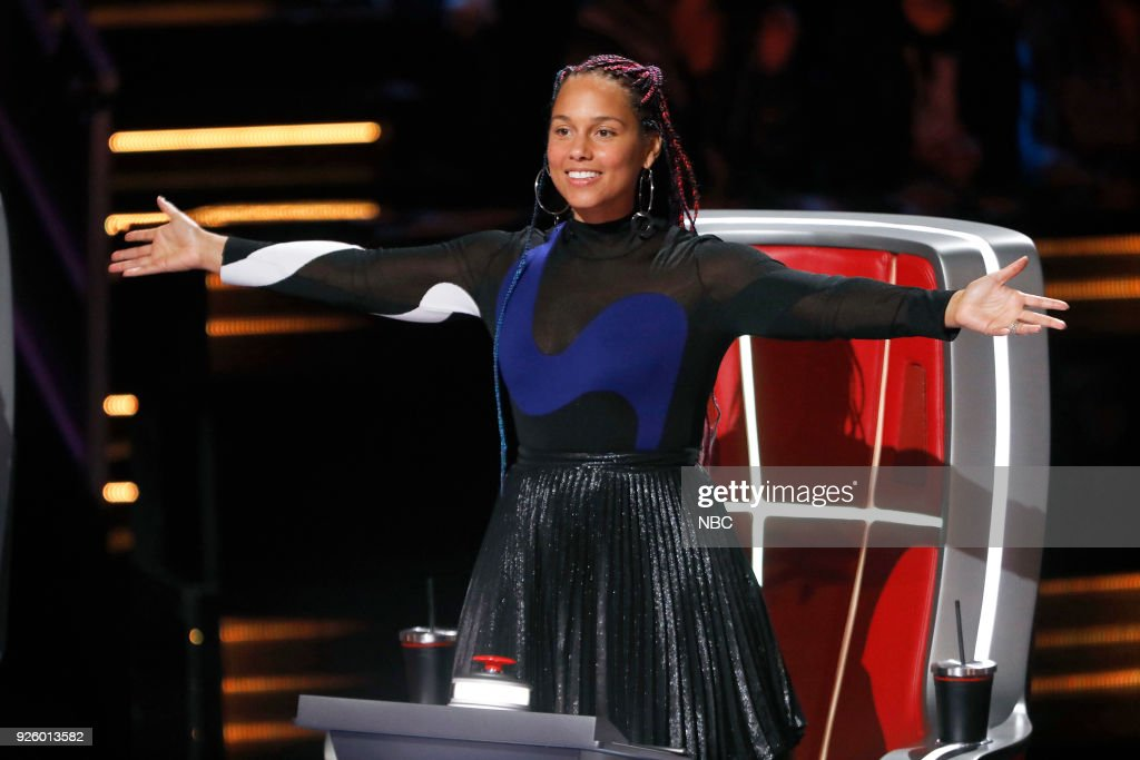 THE VOICE -- 'Blind Auditions' -- Pictured: Alicia Keys --