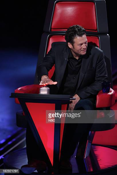 THE VOICE 'Blind Auditions' Pictured Blake Shelton