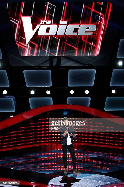 THE VOICE 'Blind Auditions' Pictured Christian Fermin