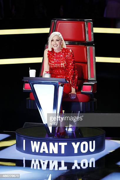 THE VOICE Blind Auditions Pictured Gwen Stefani
