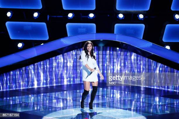THE VOICE Blind Auditions Pictured Hannah Mrozak