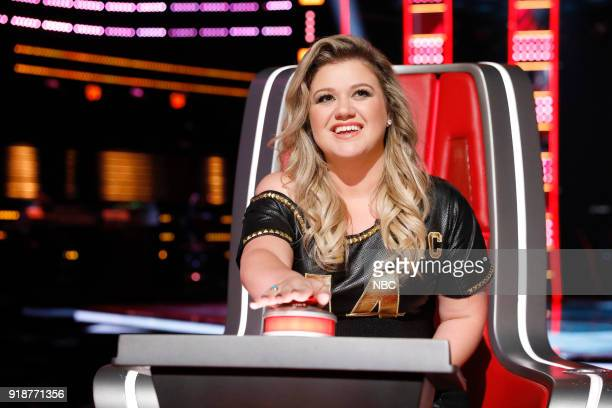 THE VOICE Blind Auditions Pictured Kelly Clarkson