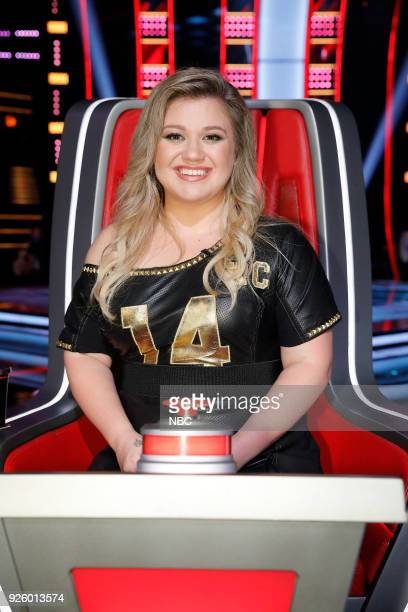 THE VOICE 'Blind Auditions' Pictured Kelly Clarkson