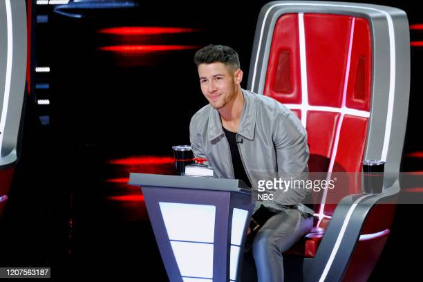 THE VOICE Blind Auditions Pictured Nick Jonas