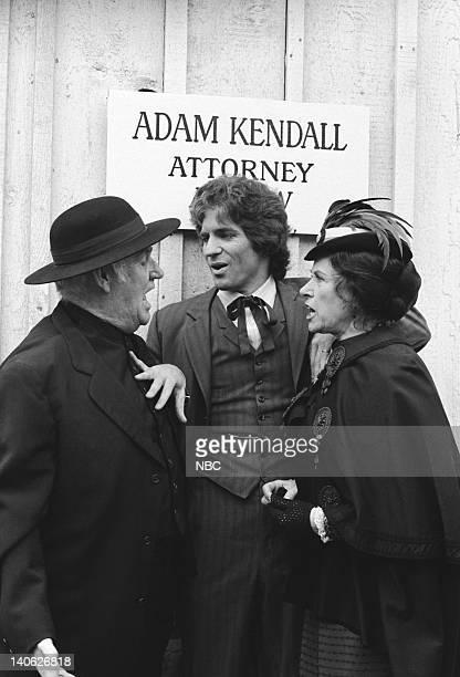 PRAIRIE Blind Justice Episode 19 Aired 2/23/81 Pictured Dabbs Greer as Reverened Robert Allen Linwood Boomer as Adam Kendall Katherine/Scottie...