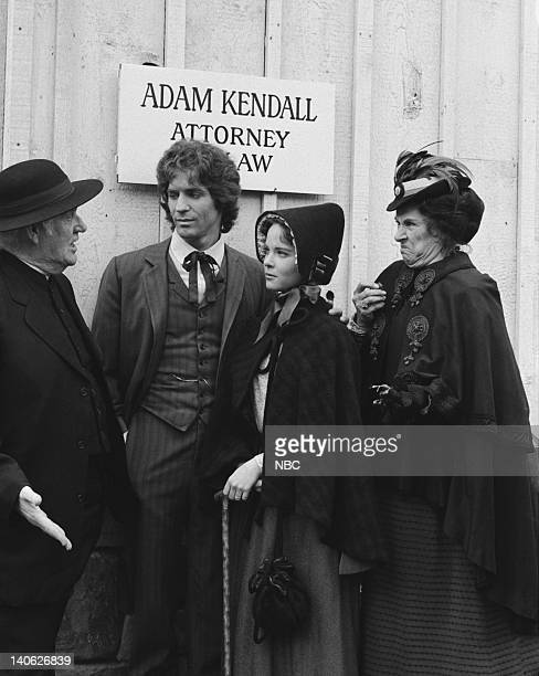 PRAIRIE Blind Justice Episode 19 Aired 2/23/81 Pictured Dabbs Greer as Reverened Robert Allen Linwood Boomer as Adam Kendall Melissa Sue Anderson as...