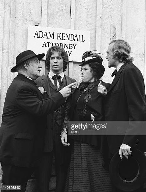 PRAIRIE Blind Justice Episode 19 Aired 2/23/81 Pictured Dabbs Greer as Reverened Robert Allen Linwood Boomer as Adam Kendall Katherine/Scottie...