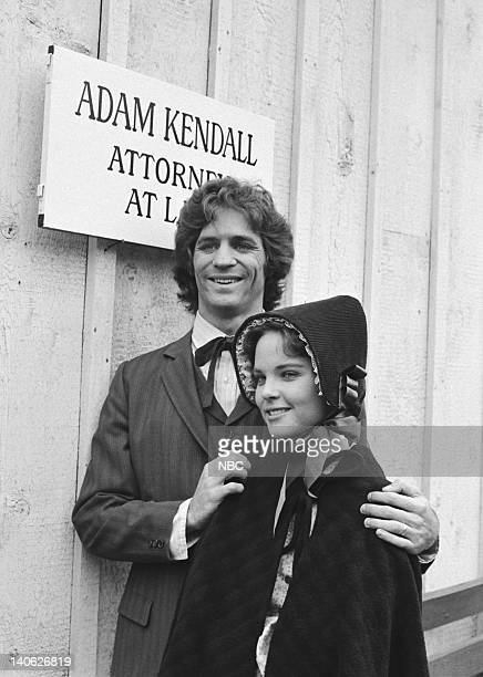PRAIRIE Blind Justice Episode 19 Aired 2/23/81 Pictured Linwood Boomer as Adam Kendall Melissa Sue Anderson as Mary Ingalls Kendall Photo by NBCU...