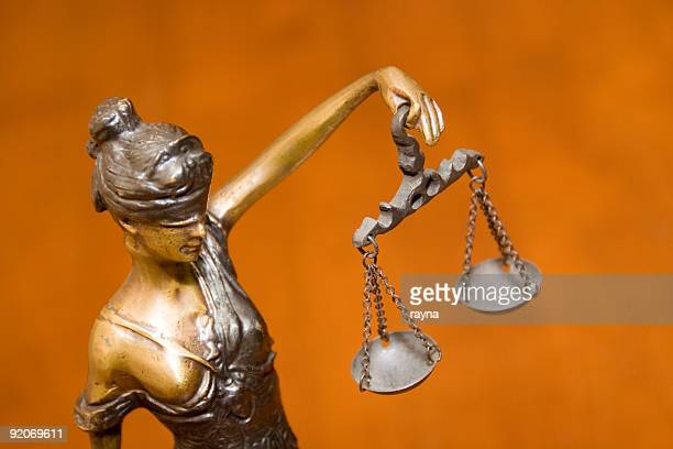 blind justice - lady justice stock pictures, royalty-free photos & images