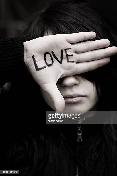 blind love - emo stock photos and pictures