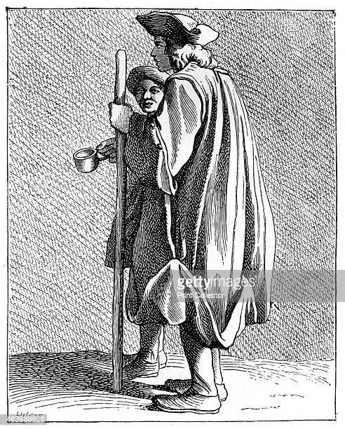 Blind man of QuinzeVingts 17371742 QuinzeVingts was a hospital for the blind in Paris The name meaning 15 times 20 in the vigesimal system referred...