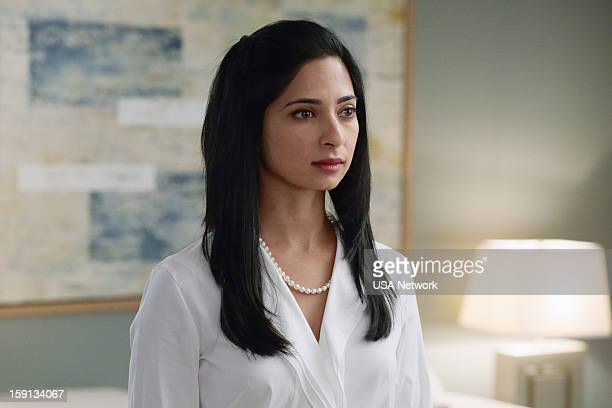 SUITS Blind Sided Episode 211 Pictured Aarti Mann as Maria
