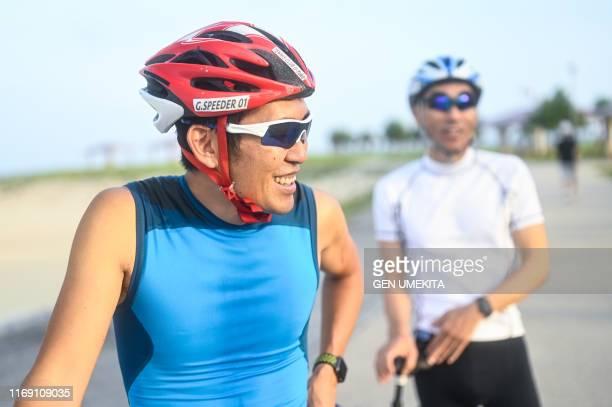 blind triathlete - スポーツ  ストックフォトと画像