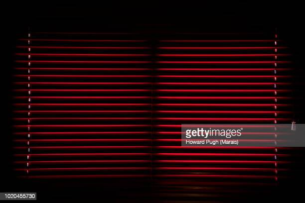 blinded spanish shutter design - maroon stock pictures, royalty-free photos & images