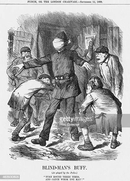'BlindMan's Buff' 1888 The policeman faces insurmountable odds in his attempts to catch the many villains operating on the streets of Britain's towns...