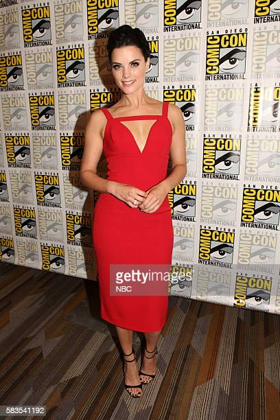 DIEGO 2016 'Blindspot' Press Room Pictured Jaimie Alexander Saturday July 23 from the Hilton Bayfront San Diego Calif