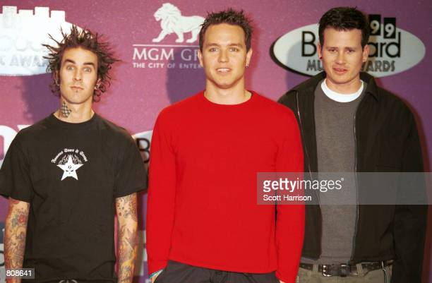 Blink 182 attends the 1999 Billboard Music Awards December 8 1999 in Las Vegas NV