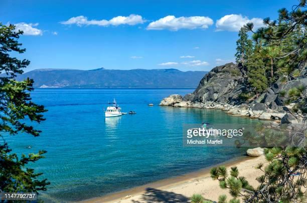 d.l. bliss state park, lake tahoe 7 - サウスレイクタホ ストックフォトと画像