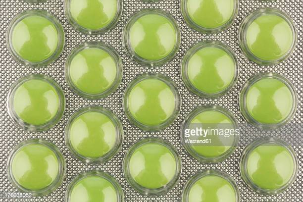 blister pack of tablet, close up - blister package stock pictures, royalty-free photos & images