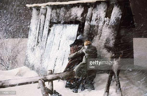 PRAIRIE Blizzard Episode 11 Aired Pictured Melissa Sue Anderson as Mary Ingalls Kendall Melissa Gilbert as Laura Ingalls Photo by Frank Carroll/NBCU...