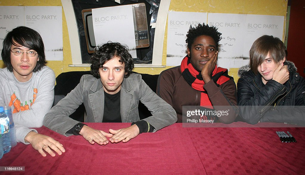 Bloc Party In-Store Appearance at Tower Records in Dublin - November 7, 2005