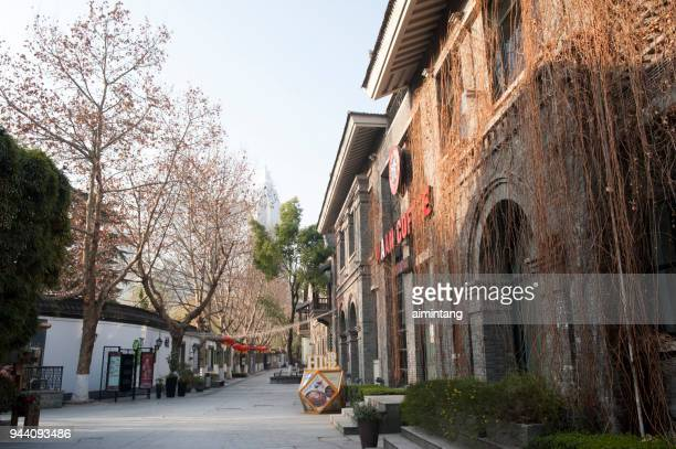 1912 block in nanjing - nanjing stock pictures, royalty-free photos & images