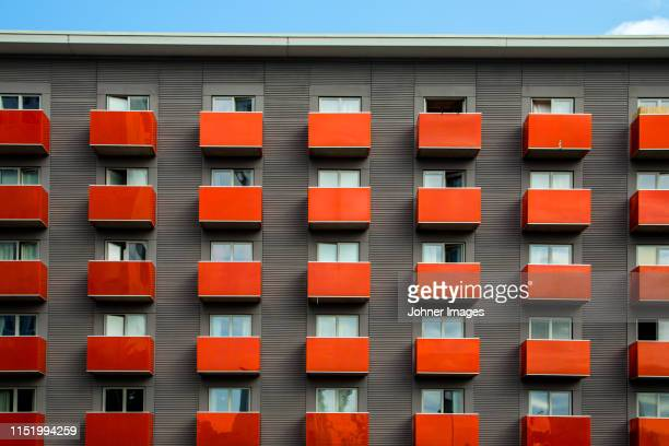 block of flats - stockholm stock-fotos und bilder