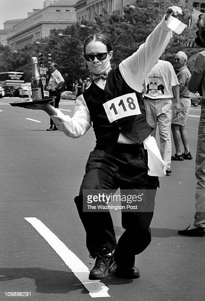 07/14/98 1200 block of Pennsylvania NW Brief description Annual Bastille day race and celebration Waitpersons champagne race Jim Hewes of Round Robin...