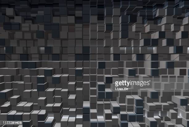 block pattern - liyao xie stock pictures, royalty-free photos & images