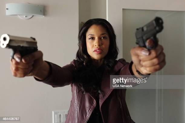 PSYCH COG Blocked Episode 805 Pictured Kali Hawk as Emanuelle