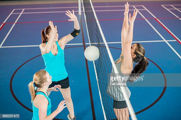 Blocking a Spike at the Gym