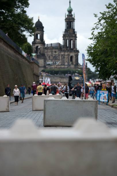 Image result for anti-terror barriers Dresden