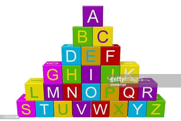 blocks with letters - the_writer's_block stock pictures, royalty-free photos & images