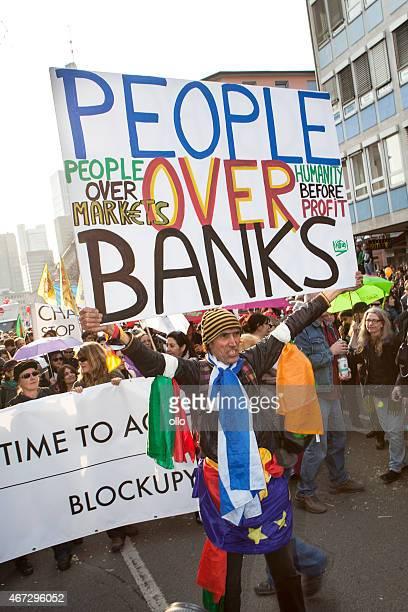 Blockupy 2015 – Frankfurt, Deutschland