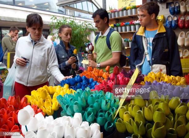 Bloemenmarkt Flower market.