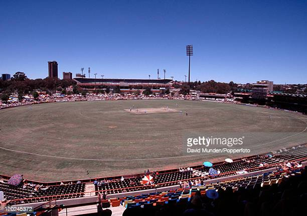 Bloemfontein cricket ground in South Africa circa 1995